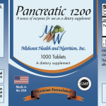 Pancreatic USP 1200MG -1000 Count