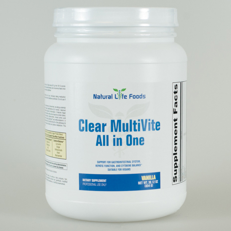 Clear Multivite All In One