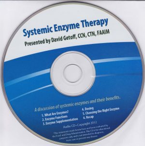 systemic enzyme Therapy cd